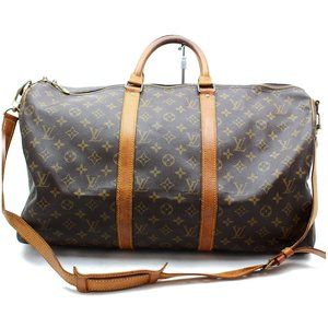 Auth Louis Vuitton Keepall Bandouliere #3357L28